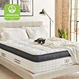 Brentwood Home Oceano Wrapped Innerspring Mattress, Made in California, Cal King
