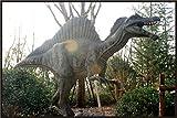 Baryonyx/Spinosaur Animated 24ft Life Size Dinosaur Statue (Jurassic Park)