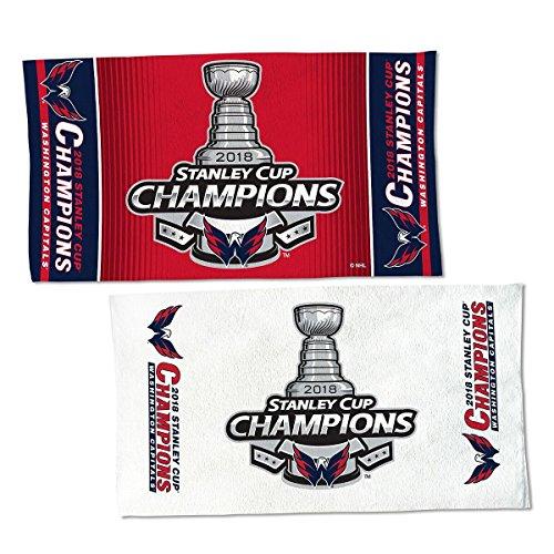 WinCraft 2018 NHL Stanley Cup Final Champions Washington Capitals Locker Room Towel