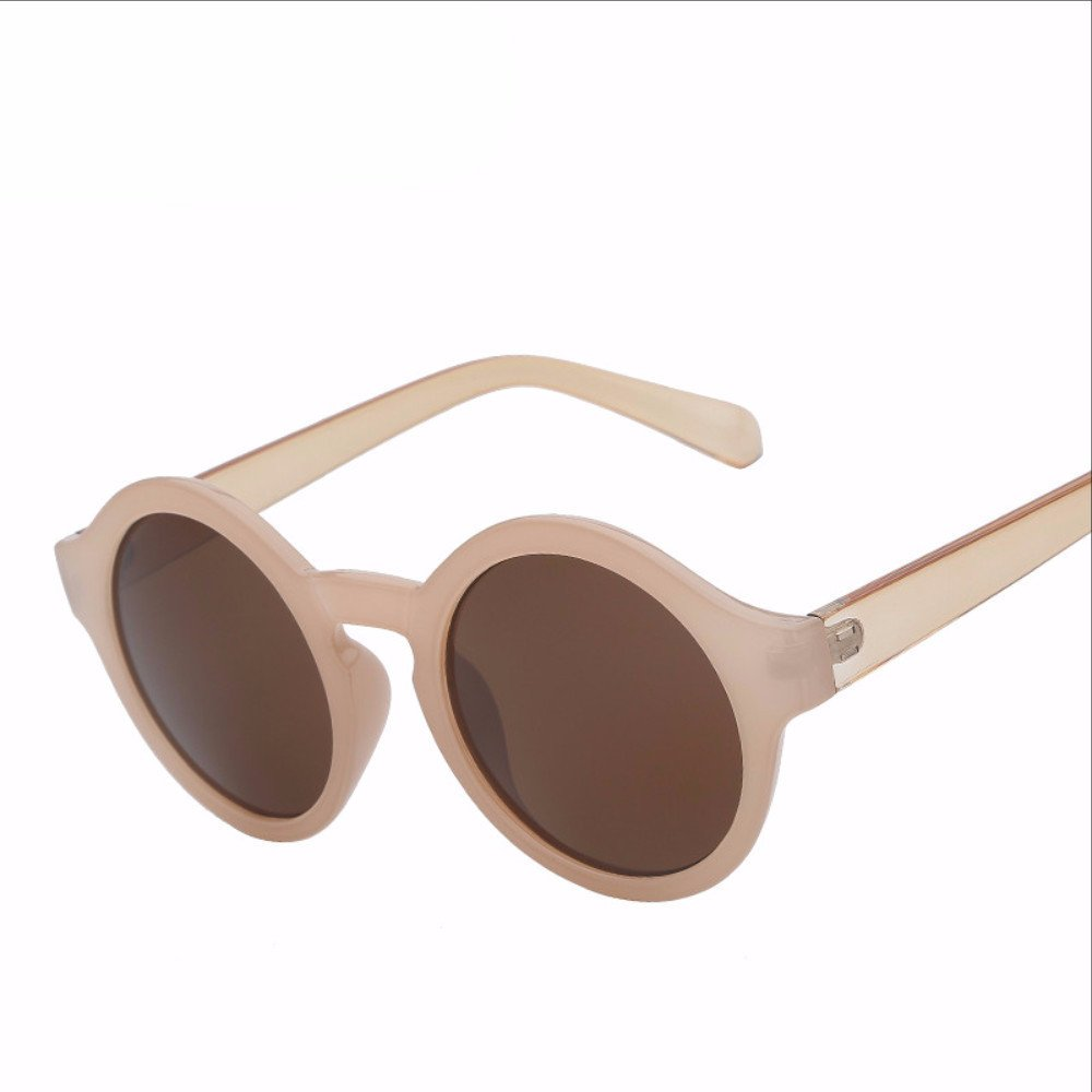 Round Circle Sunglasses Women Retro Vintage Sun glasses for ...