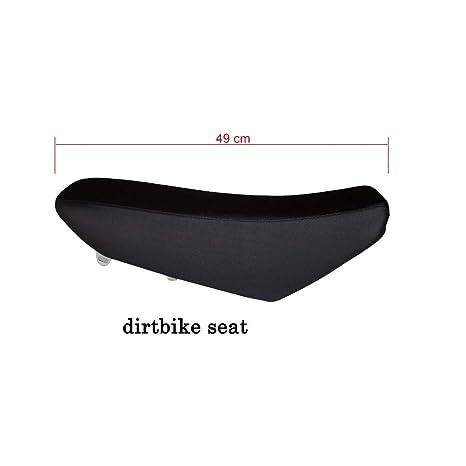 WPHMOTO Black Tall Seat for Pit Bike KAWASAKI KLX110 DRZ110 KLX DRZ 110