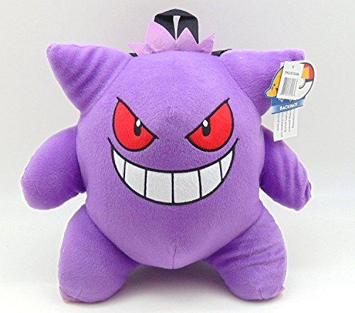 [해외]Pokemon Gangar 13 플러시천 배낭 / Pokemon Gangar 13 Plush Backpack
