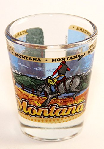 Shot Glass Montana (Montana State Wraparound Shot Glass)