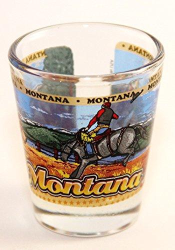 Montana State Wraparound Shot Glass
