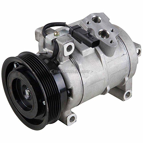 AC Compressor & A/C Clutch For Dodge Charger Challenger Magnum Chrysler 300 300C 5.7L 6.1L Hemi V8 SRT8 2005-2011 - BuyAutoParts 60-01940NA NEW ()