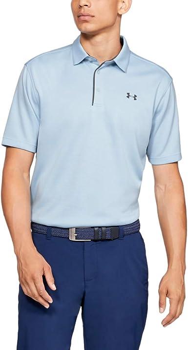 Under Armour Tech Golf Polo T-Shirt Hombre: Amazon.es: Ropa y ...