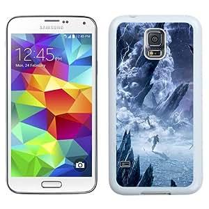 NEW Unique Custom Designed Samsung Galaxy S5 I9600 G900a G900v G900p G900t G900w Phone Case With Lost Planet 3 Artwork_White Phone Case