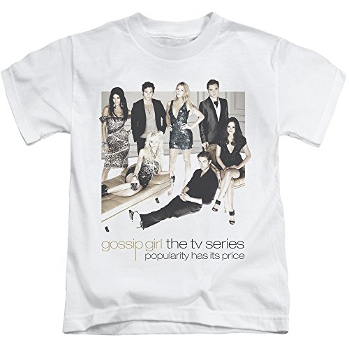 Trevco Gossip Girl Sitting Around Unisex Youth Juvenile T-Shirt For Girls and - Girl Gossip T-shirts