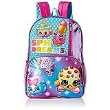 Shopkins Girls' Spk Dreams Backpack, Blue