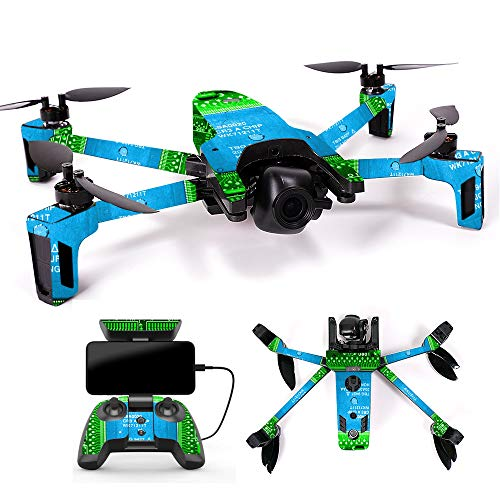 MightySkins Skin for Parrot Anafi Drone – Circuit Board | Protective, Durable, and Unique Vinyl Decal wrap Cover | Easy to Apply, Remove, and Change Styles | Made in The USA