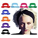DRESHOW 8 PCS Women Turban Headbands Headwraps Hair