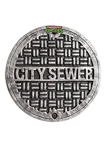 Rubie's Costume Classic Teenage Mutant Ninja Turtles Sewer Cover (Party City Halloween Costumes For Boy)