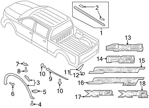 Ford FL3Z-99292A23-AA Shield