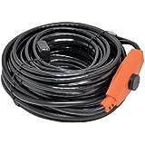 8m Cable térmico, para descongelado de tuberías, calefactor de tuberías