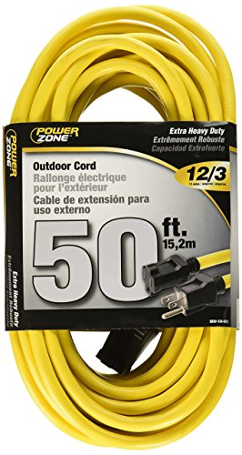 Ext 12/3 Cord Yel (Cord Ext Outdoor 12/3x50ft Yel)