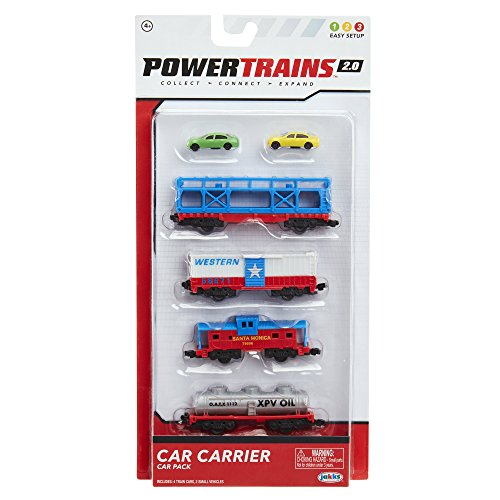 Power Trains 4-Car Pack: Car Carrier Train Car Pack for sale  Delivered anywhere in USA