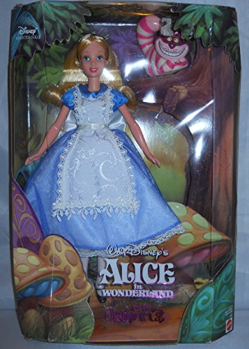 Disneys Alice in Wonderland with Cheshire Cat collector Doll (Alice In Wonderland Doll)