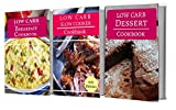 Low Carb Cookbook Box Set: Three Low Carb Diet Cookbooks For Losing Weight And Burning Fat