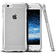 """ePaZZo ThinSkin Shock Protector TPU Silicone Case Cover For Apple iPhone 6S / 6 (4.7"""") Translucent Clear - Retail Packaging"""