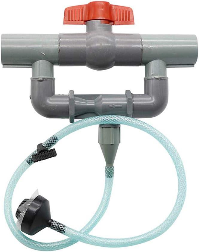 DIYARTS Equipo de Riego de Sistema de Fertilización Venturi de 32 mm con Filtro de Interruptor Control de Flujo para Kit de Tubo de Agua de Pulverización de Huertos Agrícolas