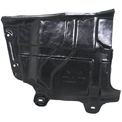 DAT 04-08 NISSAN ALTIMA 02-06 NISSAN MAXIMA BLACK ENGINE SPLASH SHIELD LEFT DRIVER SIDE NI1228118 ()