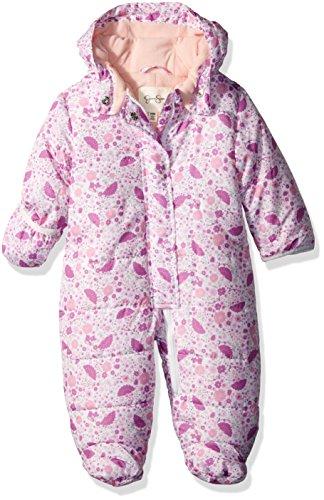 Jessica Simpson Baby Girls' Pram (More Styles Available), 8033-Pink Print, 3-6 (Pink Baby Prams)