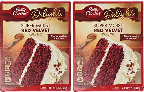 amazon com betty crocker red velvet cake mix 15 25oz per box pack