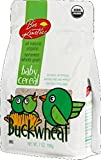 Organic Buckwheat Baby Cereal Made with Sprouted Whole Grain...