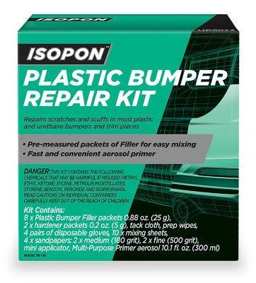 Plastic Bumper Repair Kit >> Amazon Com U Pol Isopon Plastic Bumper Filler Kit Automotive