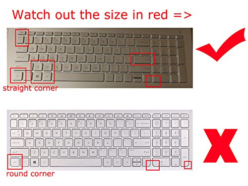 Keyboard Skin Cover Protector for HP 15-DF 15M-DR 15M-DS 15-DW 15M-CP 17M-CE