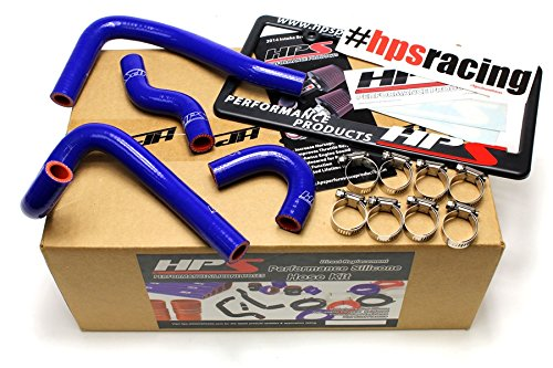 HPS 57-1396-BLUE Blue Silicone Heater Hose Kit (Coolant)