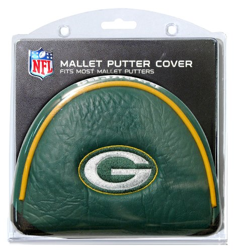 State Mallet Putter Cover - Team Golf NFL Green Bay Packers Golf Club Mallet Putter Headcover, Fits Most Mallet Putters, Scotty Cameron, Daddy Long Legs, Taylormade, Odyssey, Titleist, Ping, Callaway