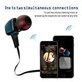 TAIR Wireless Stereo In-Ear Headset Built in Mic, Sweatproof Earphone Bluetooth Headphone with Magnetic Design