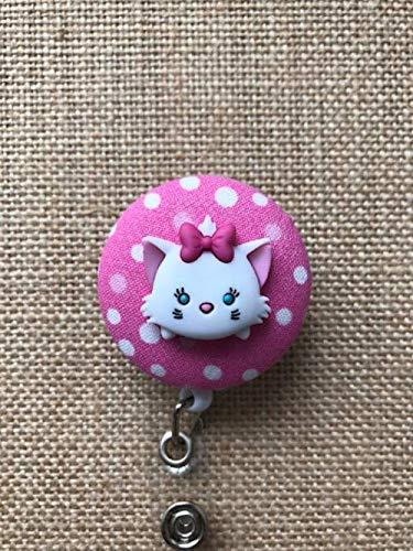 Disney Tsum Tsum Retractable ID Badge Holder - Badge Reel Clip - Your Character Choice]()