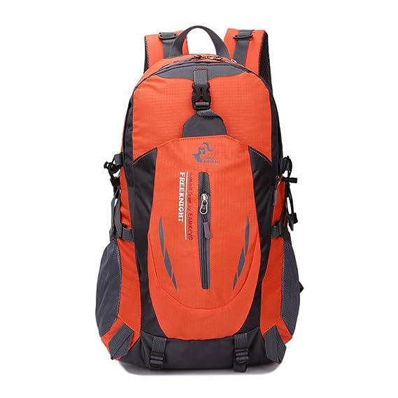 JiaMeng Mochila al Aire Libre Bookbag School Trekking Bolsas de ...