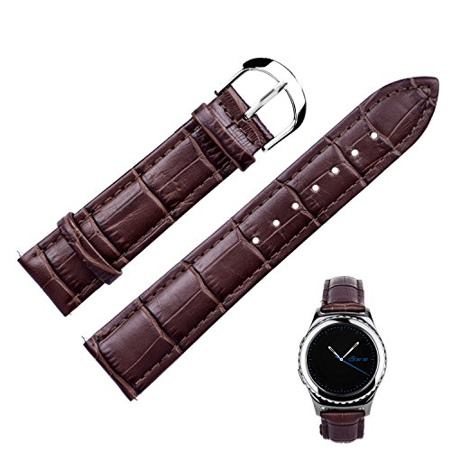 Fitian Replacement Leather Watchband Wristband