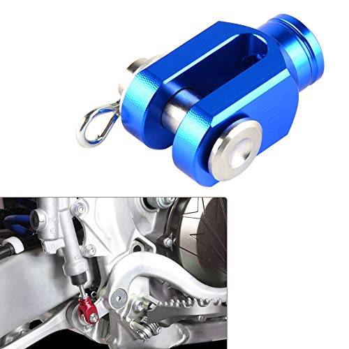 (ShineBear Fittings CNC Billet Rear Brake Clevis for Yamaha YZ80 YZ85 Serow 225 250 XT250X YFZ450 Rapter 350 660R 700R Rapter350 Rapter660R)