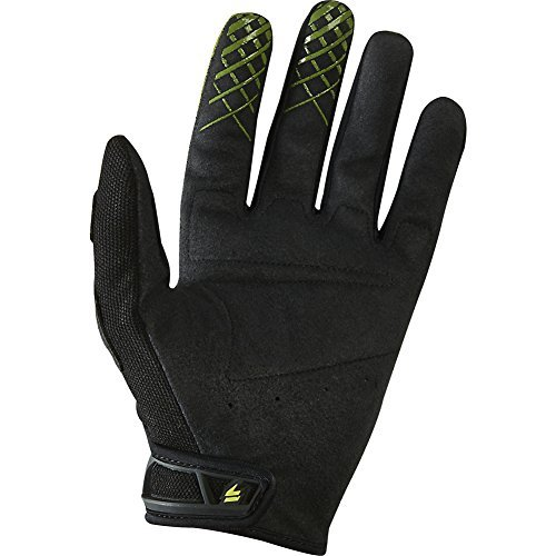 (Shift Racing Assault Race Men's Off-Road Motorcycle Gloves - Black/Green / 2X-Large)