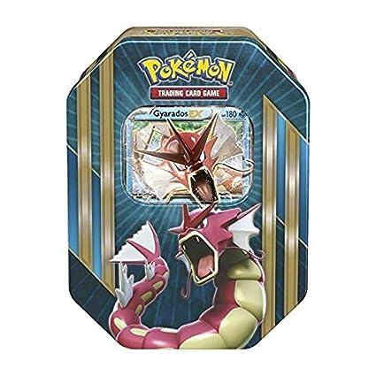 Pokemon Caja Metalica Gyarados en Ingles (Contiene: 4 ...