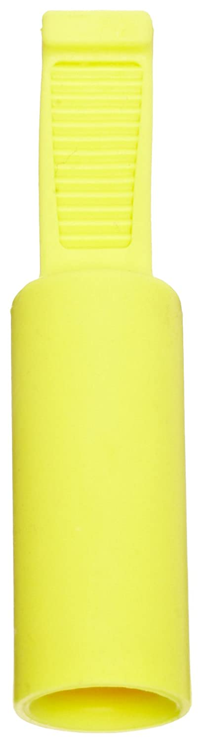 Pack of 100 4.0-5.0 mm Tube OD Yellow Kapsto 211 ZL 4 x 21 Thermoplastic Polyolefin Elastomer Flexible Grip Cap