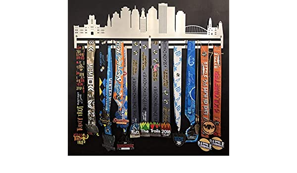 04208b4692812 Amazon.com: Rochester Skyline Stainless Steel Medal Holder for ...