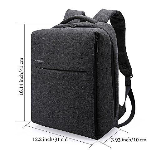 Bag Backpack Slim Black resistant Business Water Urban Black Travel Olanstar for Style Unisex Hiking Laptop Tech School aqx1wTxv8n