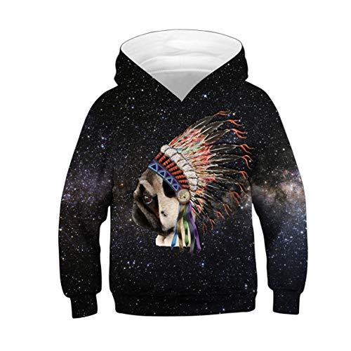 Pug Sweat Femme shirt Indian Amoma 7zUqwz