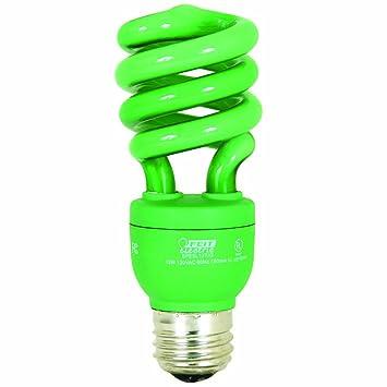 Feit Electric ESL13T/G 13-Watt Compact Fluorescent Mini Twist Bulb ...