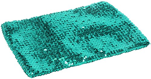 Alivila.Y Fashion Womens Sparkling Sequins Party Tube Top 4098-Turquoise
