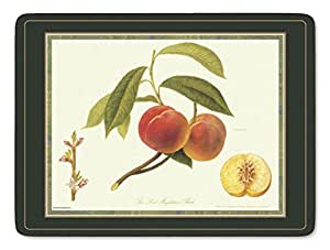 Pimpernel - Juego de manteles individuales (6 unidades), diseño de frutas