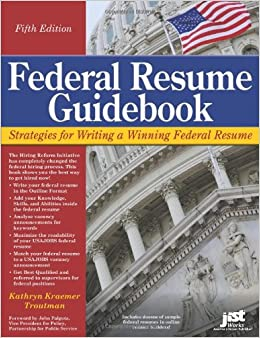 federal resume guidebook strategies for writing a winning federal resume federal resume guidebook write a winning federal resume to get in