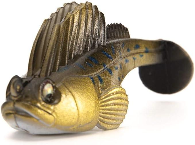 Balight Se/ñuelo de Pesca Hunthouse Cebo Plantilla de Plomo Suave Dark Dream Swimbaits Se/ñuelo Suave Pesca Pike Se/ñuelo bajo
