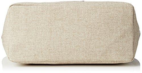 Timberland Tb0m5152, Bolso para Mujer, 16.5 x 27.5 x 45.5 cm (W x H x L) Beige (TRAVERTINE)