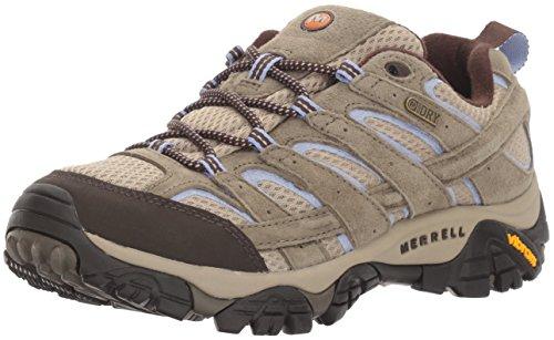 Dusty Olive (Merrell Women's Moab 2 Waterproof Hiking Shoe, Dusty Olive, 8.5 M US)